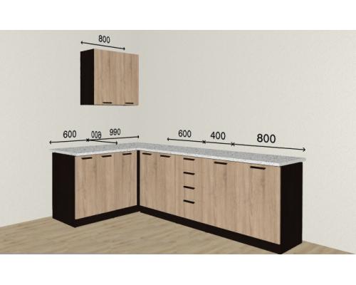 Кухня Брауни 1600/2400