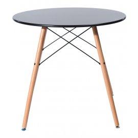 Обеденный стол Eames DSW D80 черный