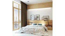 Достоиснтва кровати в скандинавском стиле