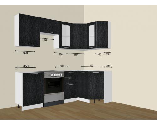 Кухня Валерия 1300х1950