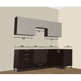 Кухня Лофт угловая 2200х1200