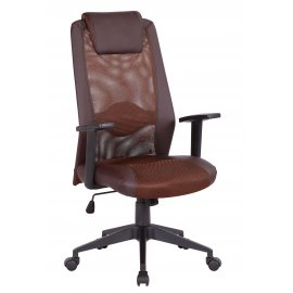 Компьютерное кресло TopChairs Studio коричневое