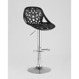 Барный стул Кружево (черный)