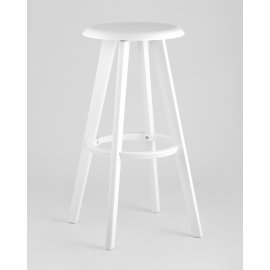 Барный стул Hoker 0862 вращающийся (белый)