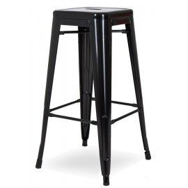 Барный стул N-36 Glossy black
