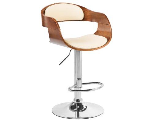 Барный стул LMZ-5078 кремовый