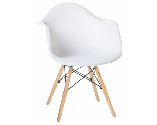Кресло LMZL-PP620 (Eames) белое
