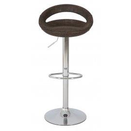 Барный стул ABS108 Brown ротанг