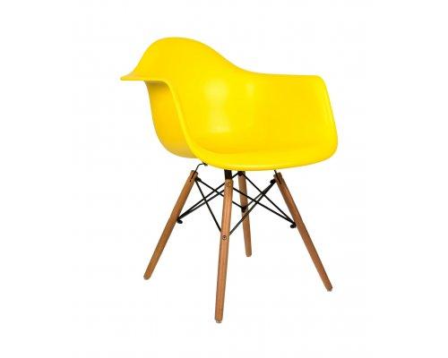 Кресло Eames W желтое