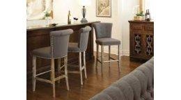 Особые нюансы мягких барных стульев для кухни