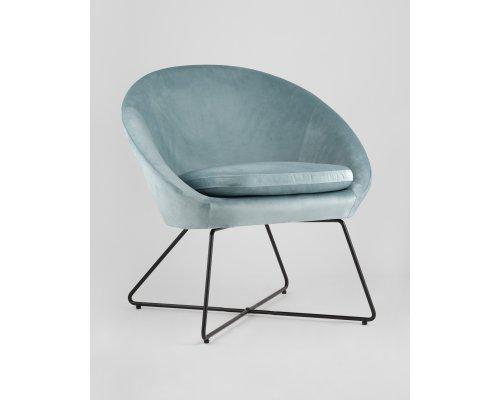 Кресло Колумбия (пыльно-голубое)