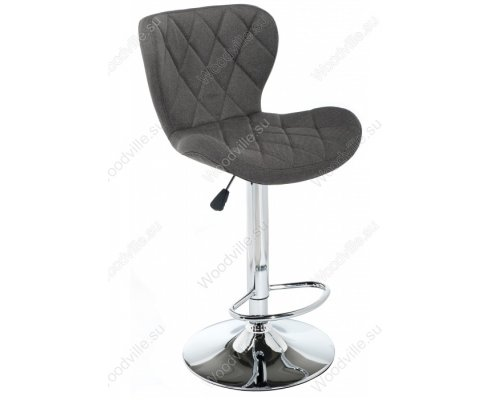 Барный стул Porch dark grey fabric