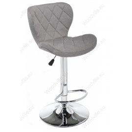 Барный стул Porch grey fabric