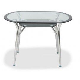 Обеденный стол S-604 (black line) 900