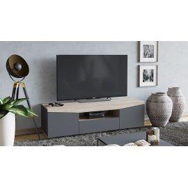 Тумба под телевизор Тип-1 (графит)