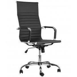 Кресло руководителя TopChairs City (черный)