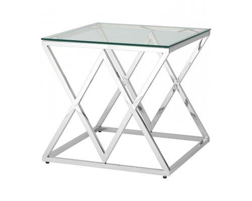 Журнальный стол Инсигния (серебро)