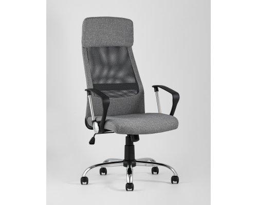 Компьютерное кресло TopChairs Bonus серое