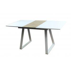 Обеденный стол Детройт раскладной (белый)