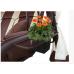 Качели садовые Эдем шоколад (каркас шоколад)