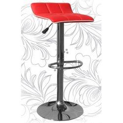Барный стул LM-5014 red/white