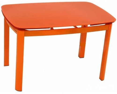 Раздвижной обеденный стол 6236С (orange/orange)