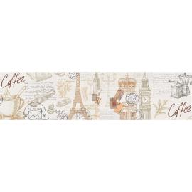 Фартук для кухни Париж