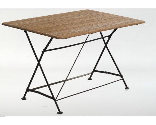 Стол складной прямоугольный 120