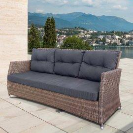 Плетеный диван из искусственного ротанга AFM-308B-1 Beige