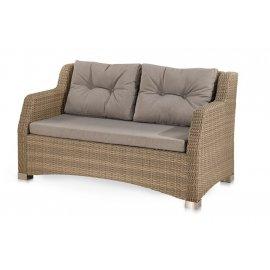Плетеный диван из искусственного ротанга S51B-W65 Light Brown