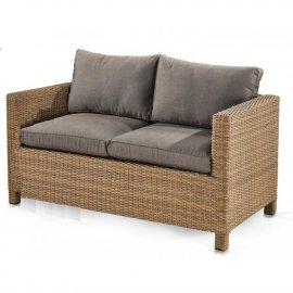 Плетеный диван из искусственного ротанга S59B-W65 Light Brown