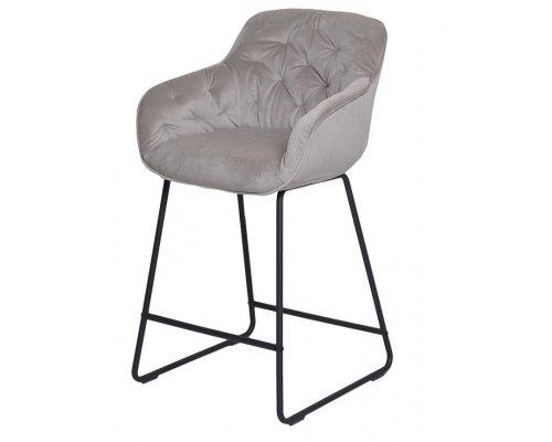 Барный стул D12 LIGHT SMOKY (VIC 6)/BLACK