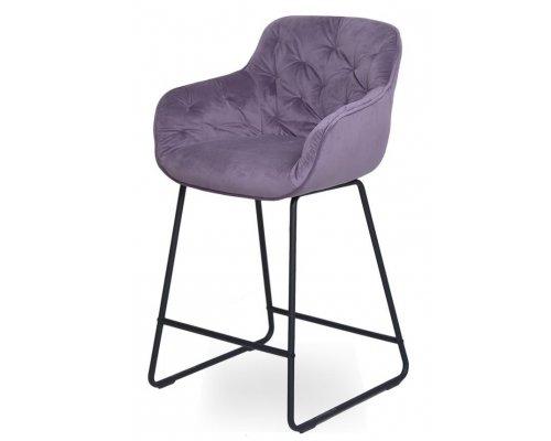 Барный стул D12 PURPLE (VIC 73)/BLACK