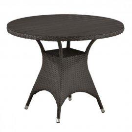 Обеденный стол из искусственного ротанга T190AD-W52-D96 Brown