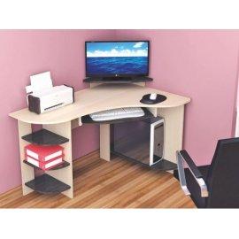 Компьютерный стол Грета-5 (дуб молочный)