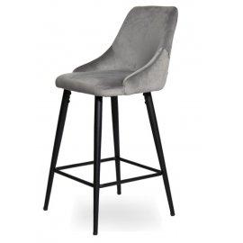 Барный стул WY-21 Grey (W11-68)/Black