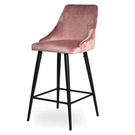 Барный стул WY-21 Pink (W11-34)/Black