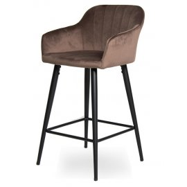 Барный стул WY-22 Coffee (W11-18)/Black