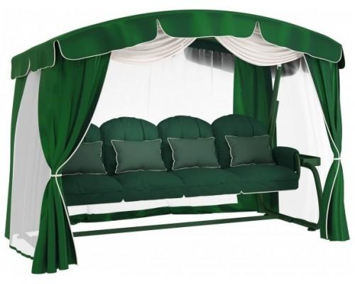 Качели садовые Leset Ирис (зеленые)
