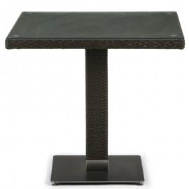 Кофейный стол из искусственного ротанга T606SWT-W53 Brown