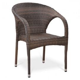 Кресло из искусственного ротанга Y290BG W1289 Pale