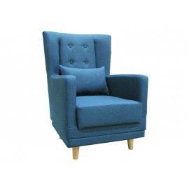 Кресло Клементина Темпо-7 (синий)