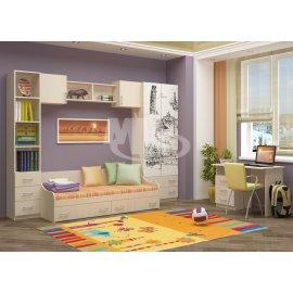 Детская комната Вега-1 с рисунком
