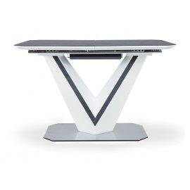 Раздвижной обеденный стол Иззи SH-200 (grey TF-002) White 120