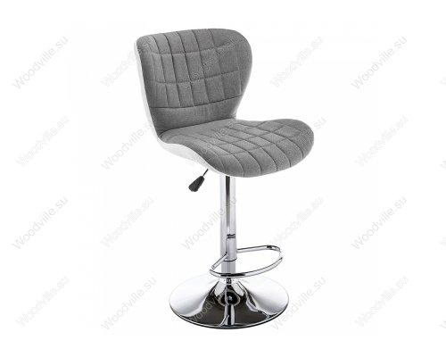 Барный стул Brend серый/белый
