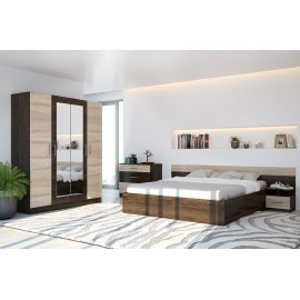 Спальня Уют-1 (Леси) со шкафом