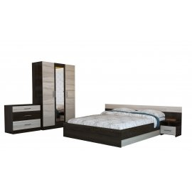 Спальня Уют-1 со шкафом-2