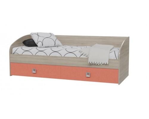 Детская кровать Сити 4-2001 Коралл