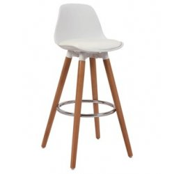 Барный стул Мартин белый