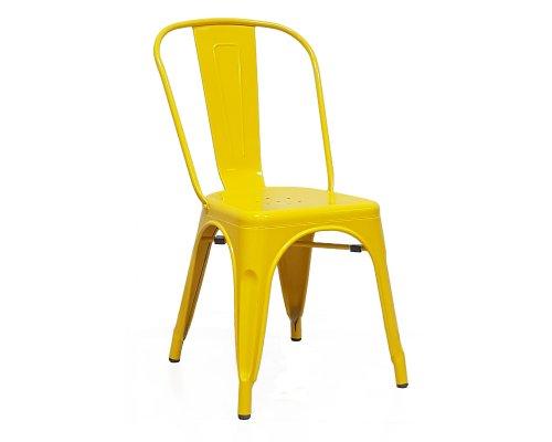 Стул Tolix желтый глянец